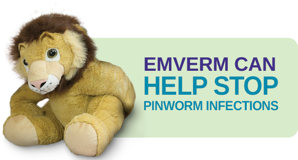 Emverm can help stop pinworm infections
