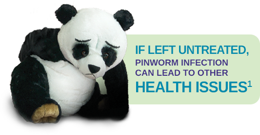 If left untreated, pinworm infection can lead to other health issues